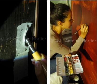 restauration tableaux antoine mortier