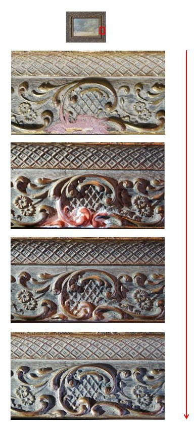 restauration cadre de tableau à bruxelles
